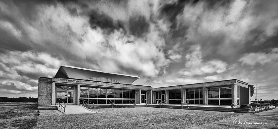 Outer Banks Photograph - Wright Brothers Visitor Center 5278 by Dan Beauvais