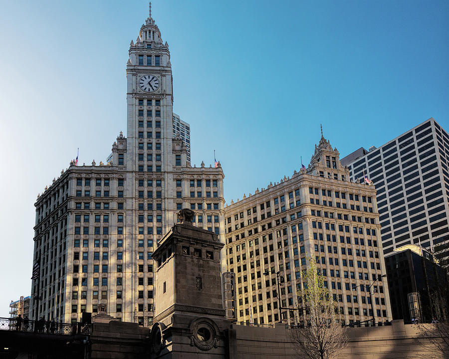 Wrigley Building from Chicago River by Jemmy Archer