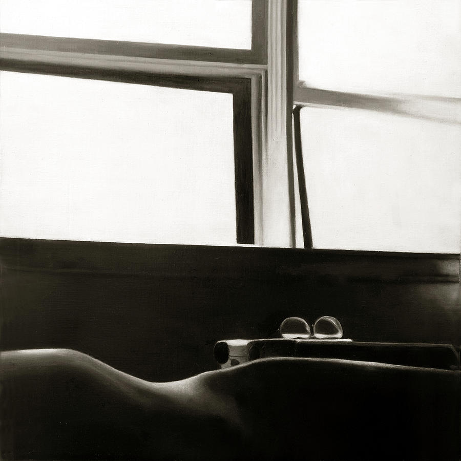 Photorealism Painting - Writers Repose by Anni Adkins
