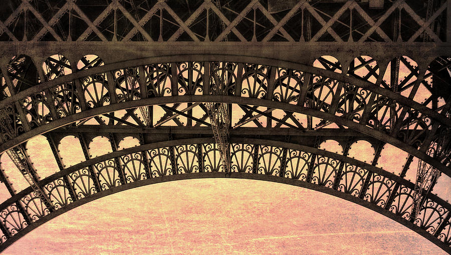 Paris Photograph - Wrought Iron Art by JAMART Photography