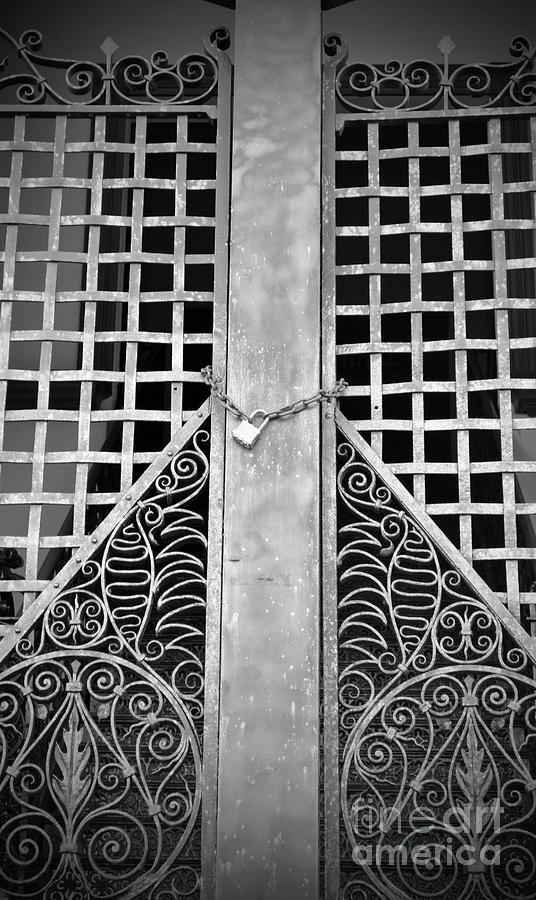 Inn Photograph - Wrought Lock by Jost Houk