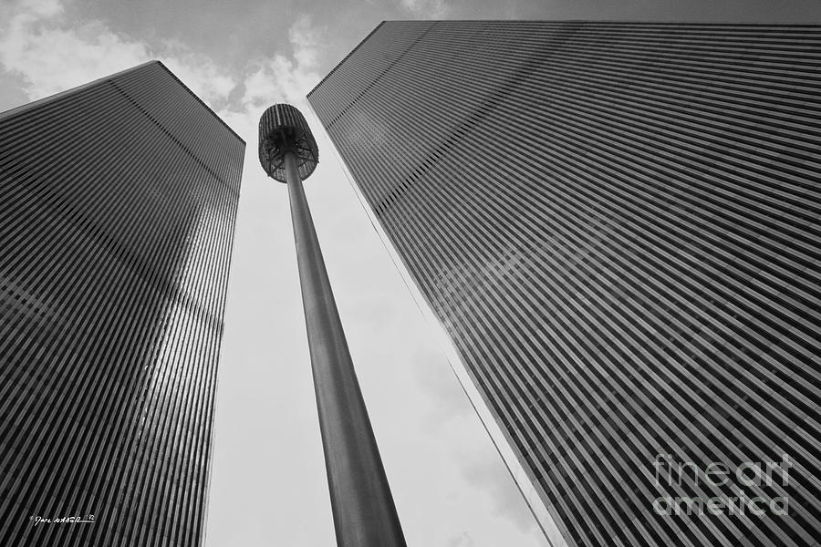 World Trade Center Photograph - Wtc, 1982 by Marc Nader