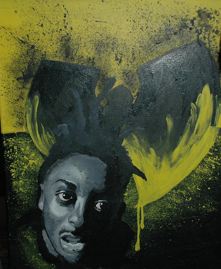 Wu Tang Painting - Wu Tang Killa Bee by Matt Burke