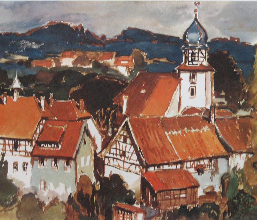 Wuestenrot Small German Village By Antje Wieser
