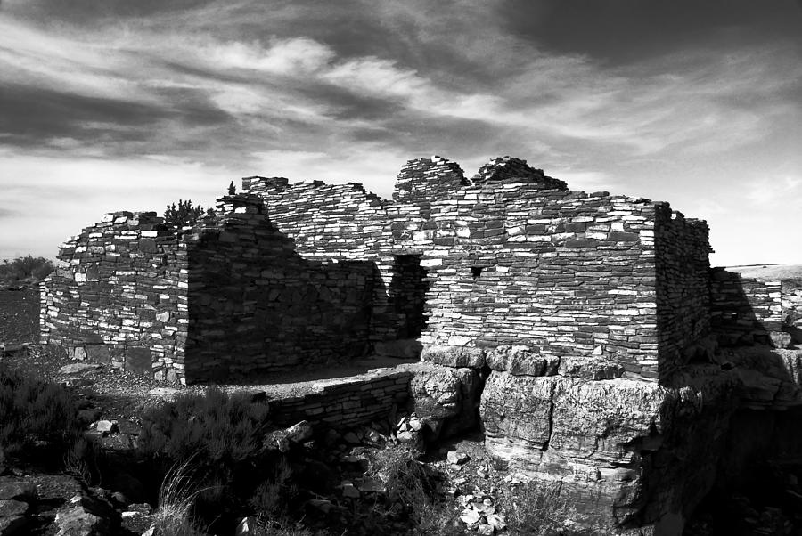 Ruins Photograph - Wupatki by David Lee Thompson