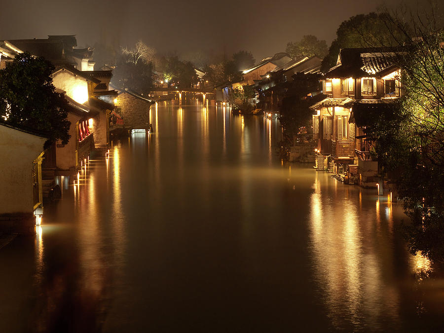 China Photograph - Wuzhen - Venice Of The Far East by Andrew Soundarajan