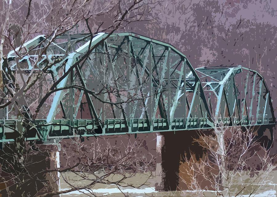 Wv Bridge Digital Art by Nicole Kinzer