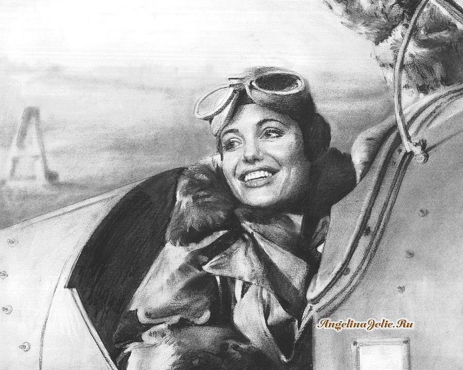 Wwii Uk Ata Female Pilot Featured By Angelina Jolie