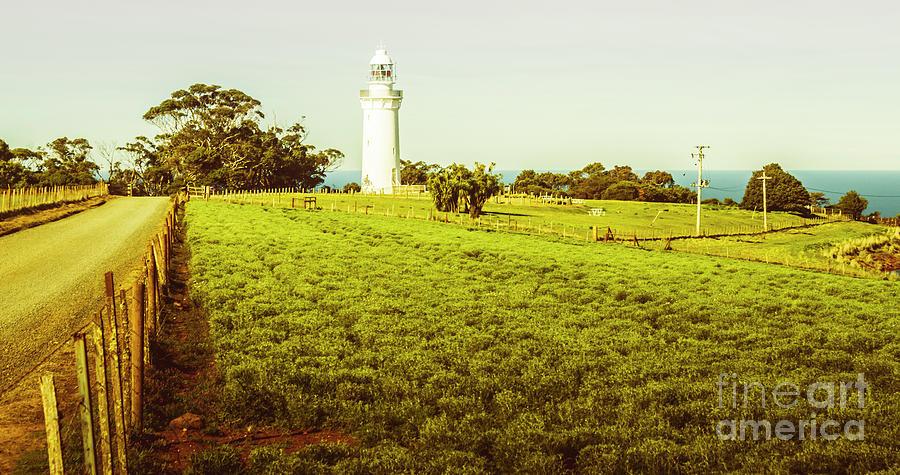 Lighthouse Photograph - Wynyard Lighthouse Way by Jorgo Photography - Wall Art Gallery