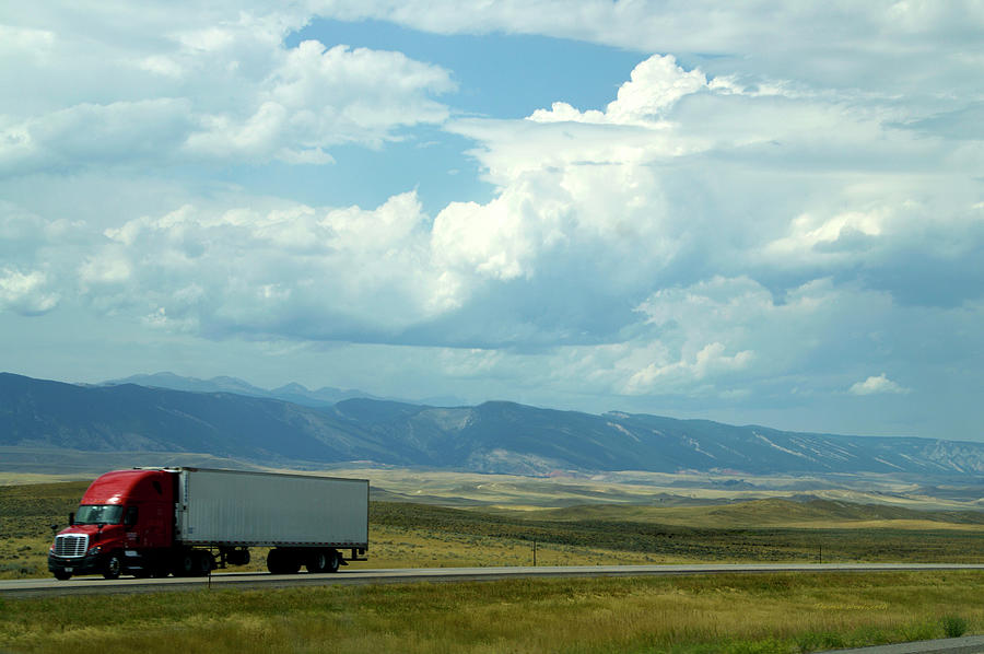 Wyoming Photograph - Wyoming August Clouds 02 by Thomas Woolworth