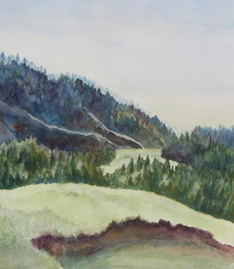 Wyoming Painting - Wyoming Glow by Jenny Armitage