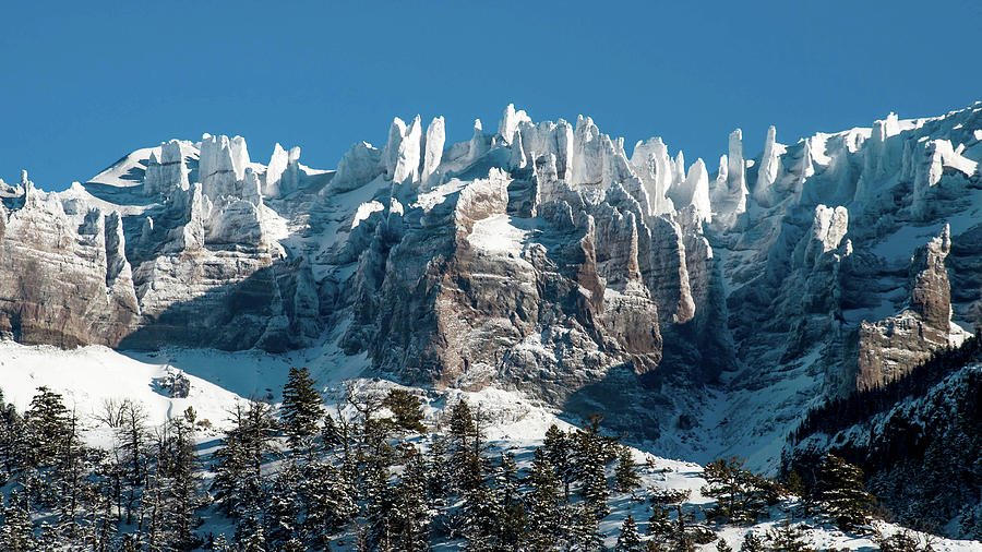 Wyoming Mountain Peaks  by Lisa Holland-Gillem