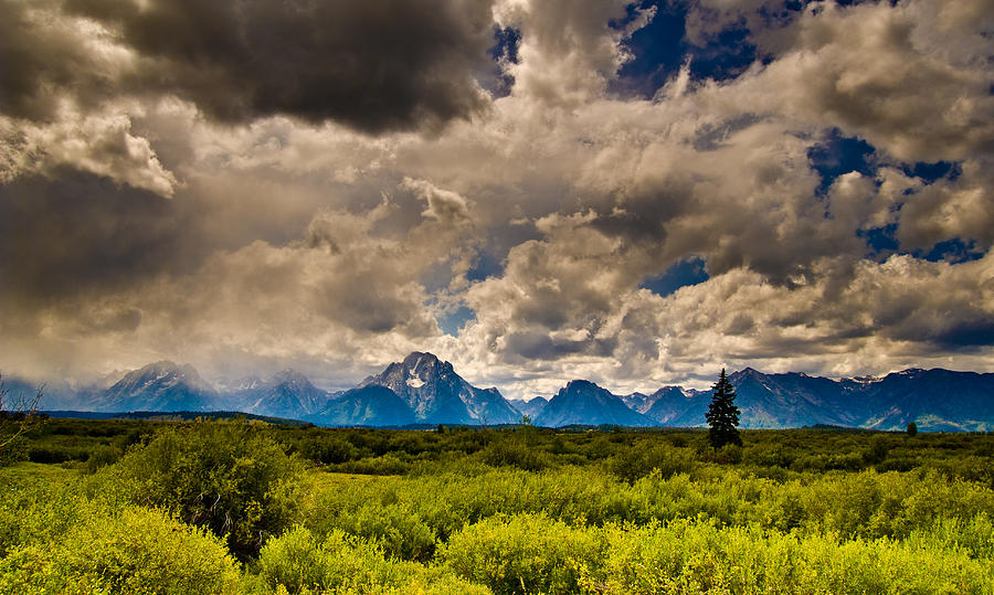 Sky Photograph - Wyoming Sky by Patrick  Flynn
