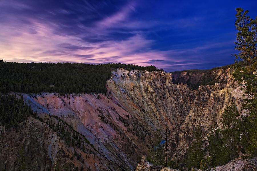 Wyoming Sunset Photograph