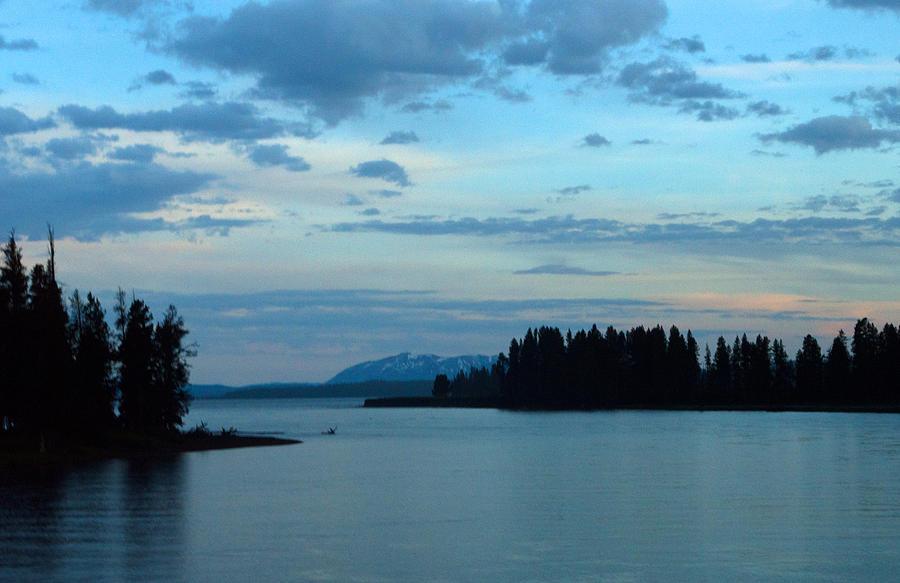 Clouds Photograph - Wyoming Sunset by Linda Kerkau