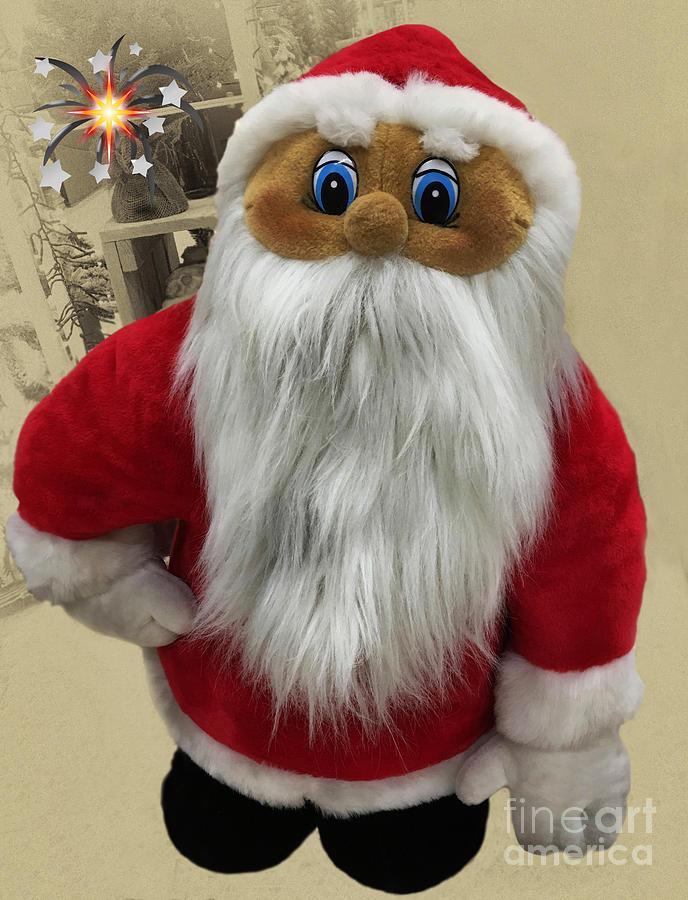 X-mas Santa Claus Photograph