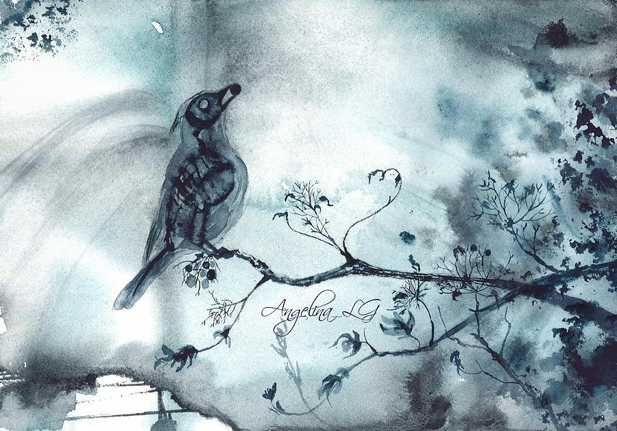 X-ray Painting - X-ray Vision I by Angelina Ligomina