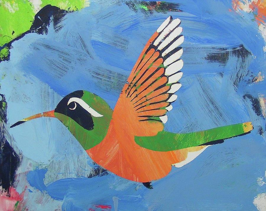 Xantus Hummingbird by Candace Shrope