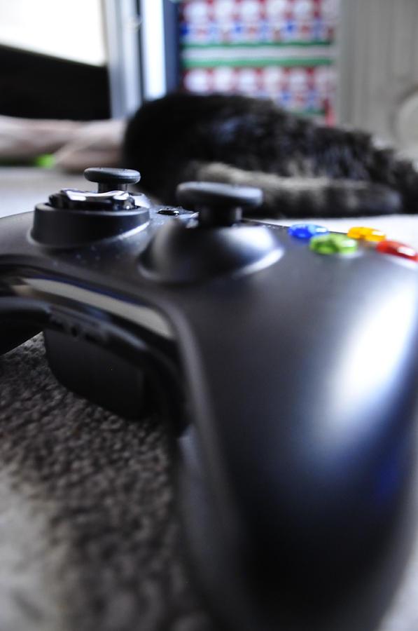 Xbox Photograph - Xbox 360  by Brynn Ditsche