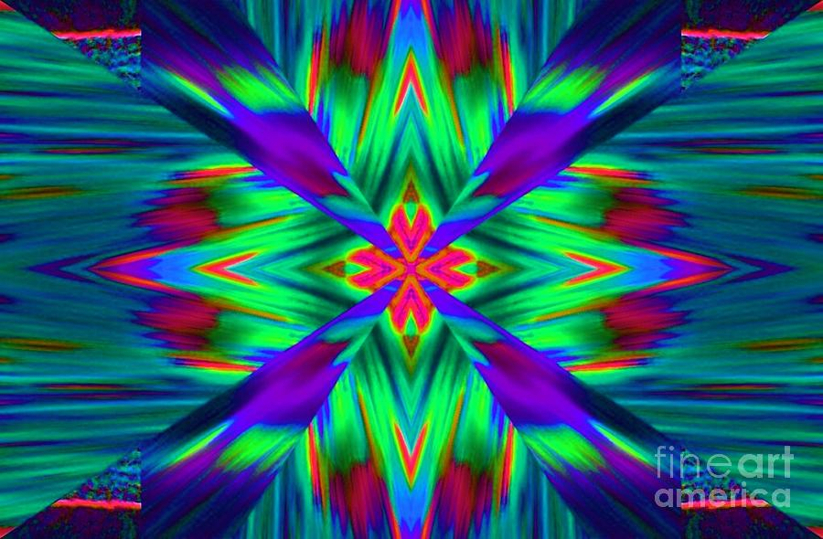 Abstract Digital Art - Xciting by Lorles Lifestyles