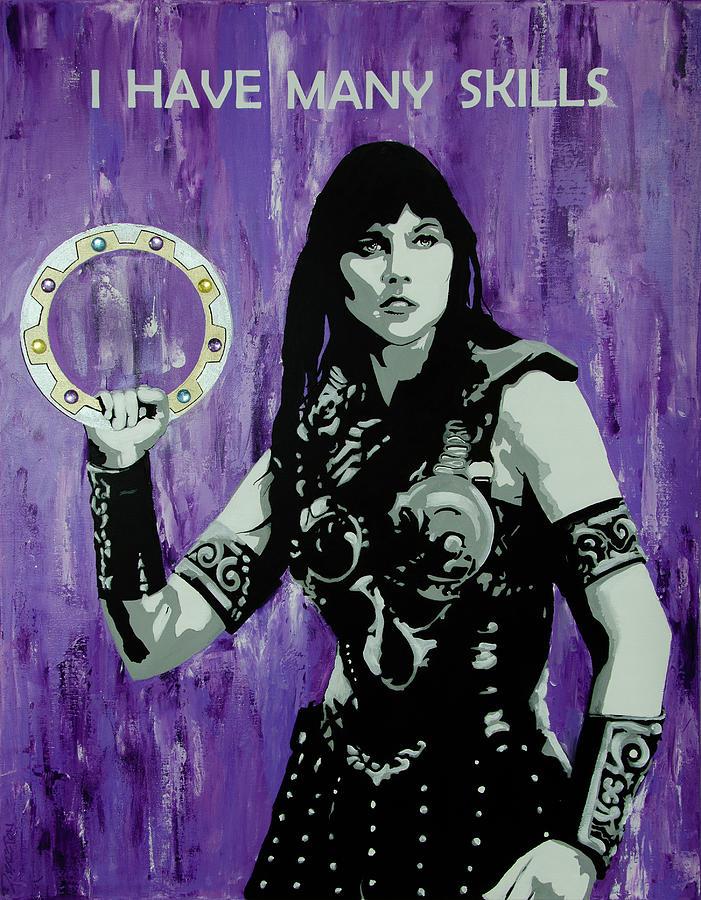 Xena Warrior Princess Painting