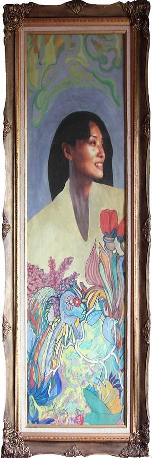 Guizhou Painting - Xiaohong by Lao Dan