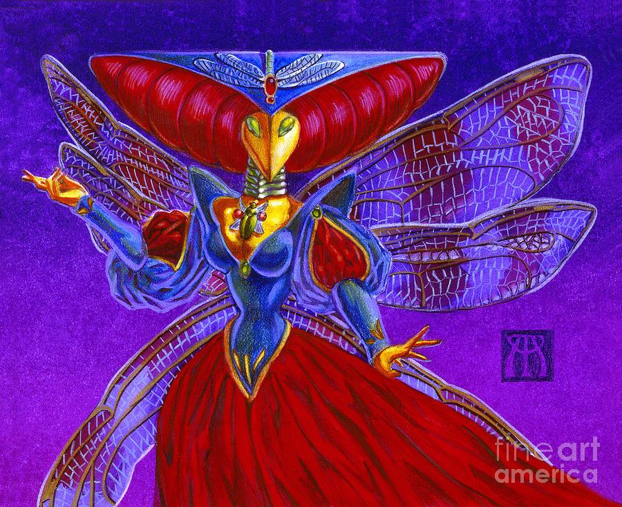 Magic The Gathering Painting - Xira Arien by Melissa A Benson