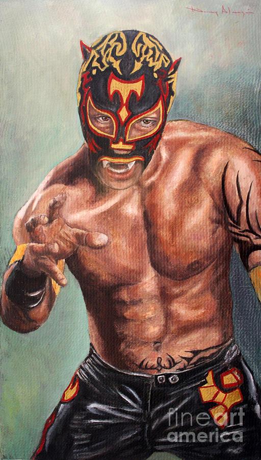 Portrait Painting - Xtrem Tiger by Nancy Almazan