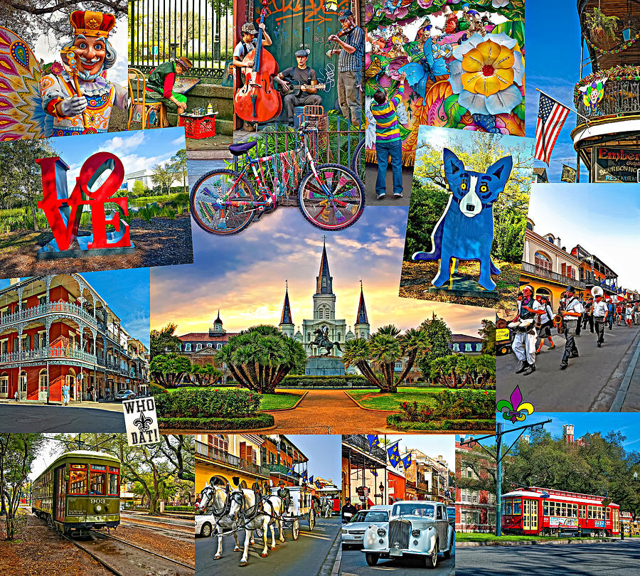 New Orleans Photograph - Ya Gotta Love New Orleans 2 by Steve Harrington