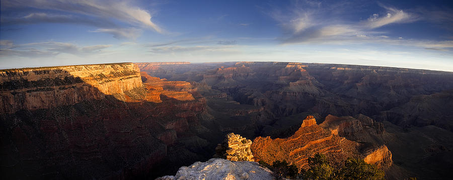 National Park Photograph - Yaki Point Panorama by Andrew Soundarajan