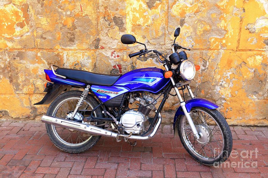 Yamaha Photograph - Yamaha Ibero In Cartagena by John Rizzuto