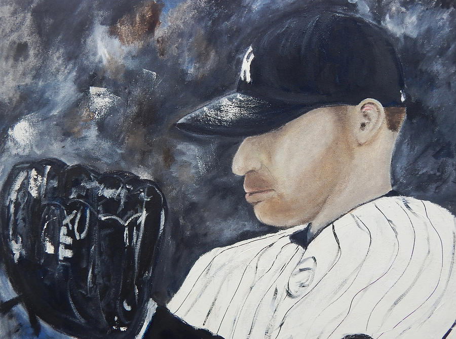 Yankee Greats Painting - Yankee Andy by Jorge Delara