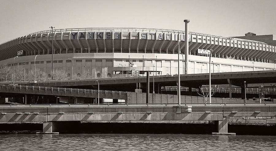 Yankees Photograph - Yankee Stadium    1923  -  2008 by Daniel Hagerman