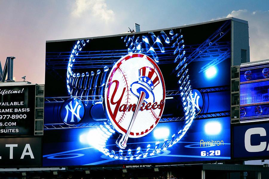 Yankee Stadium Jumbotron Photograph By Aurelio Zucco