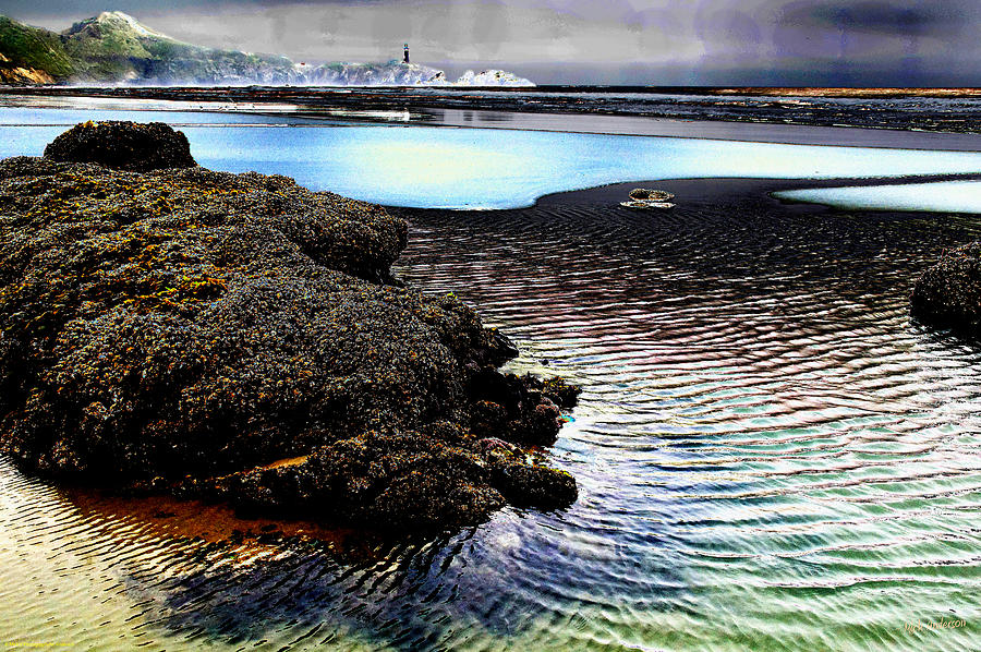 Yaquina Photograph - Yaquina Dream by Mick Anderson
