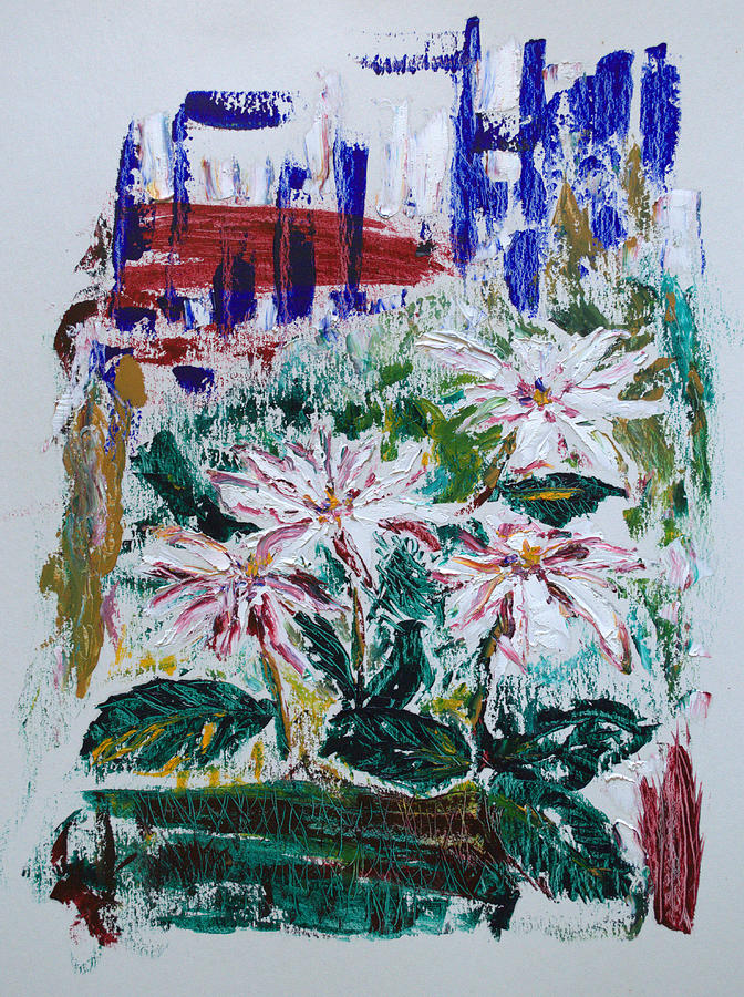 Flowers Painting - Yard Candy by J R Seymour