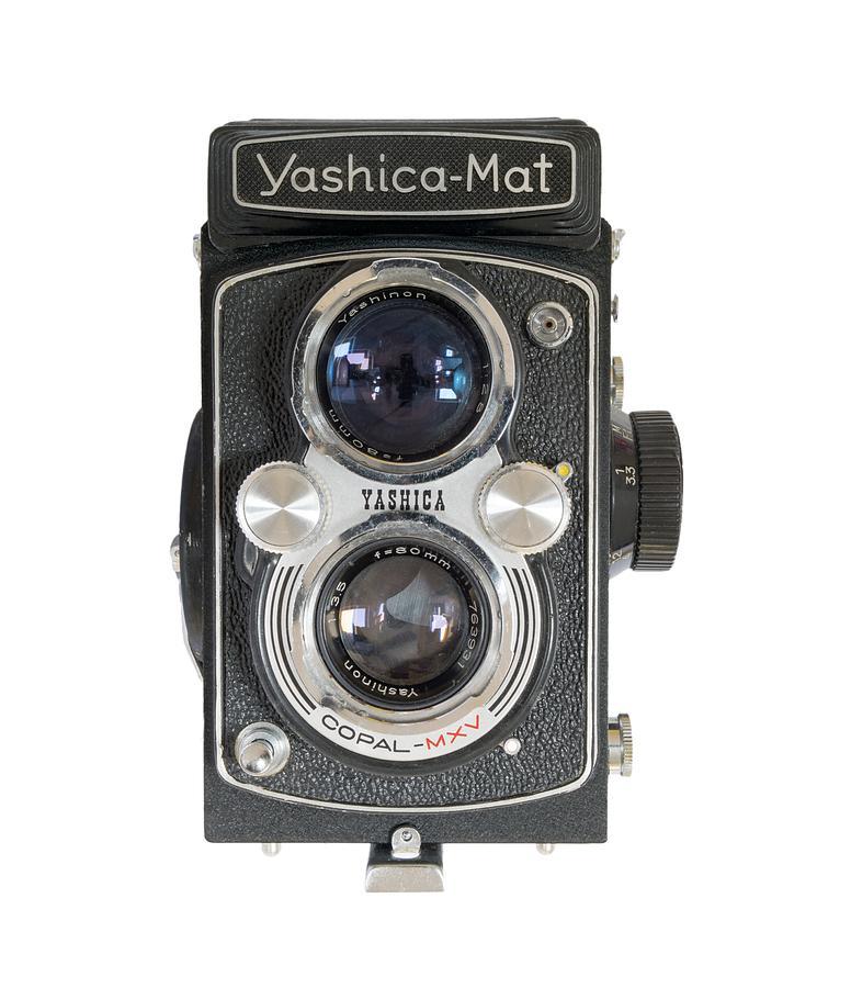 Yashica Mat Twin Lens Reflex Photograph