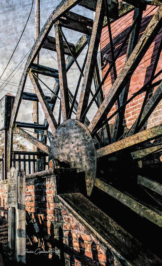 Yates Cider Mill Water Wheel by Joann Copeland-Paul