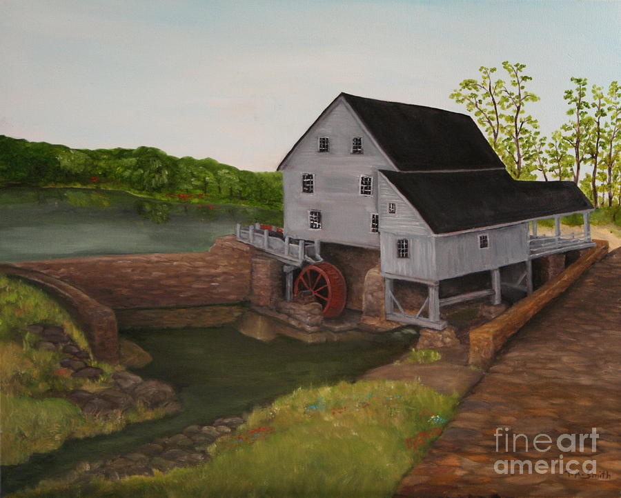 Yates Mill Painting - Yates Mill by Timothy Smith