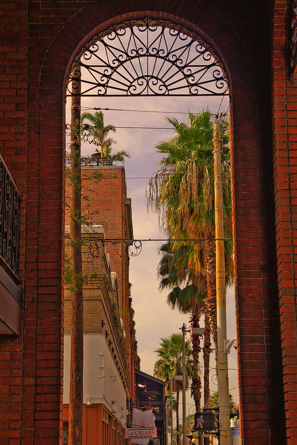 Tampa Photograph - Ybor Arch by Patrick  Flynn