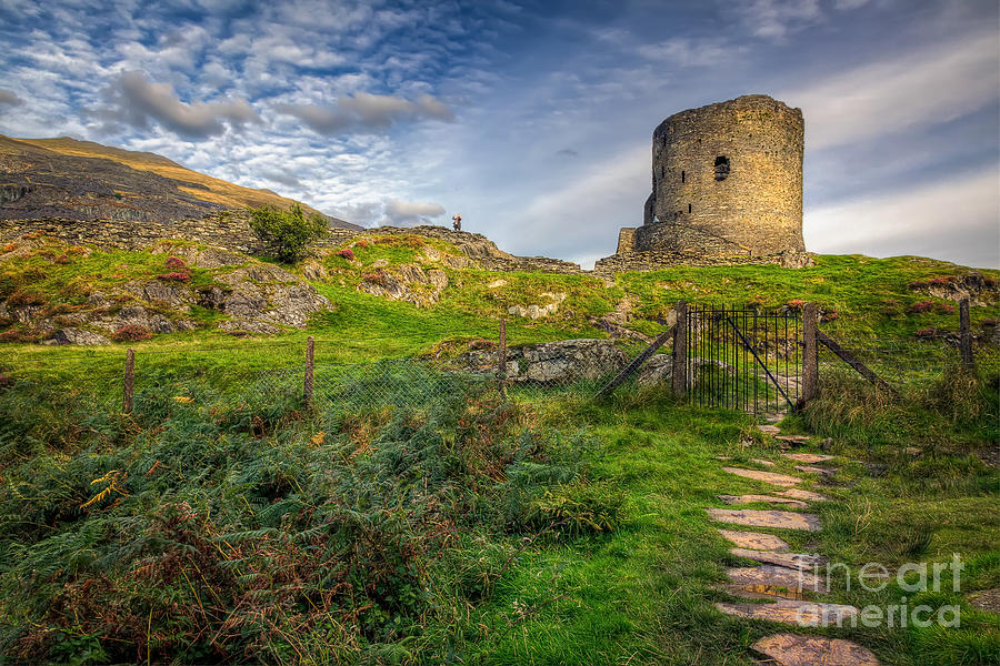 Castle Photograph - Ye Olde Path  by Adrian Evans