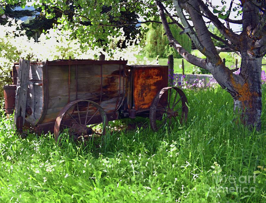 Ye Olde Spray Wagon by Malanda Warner