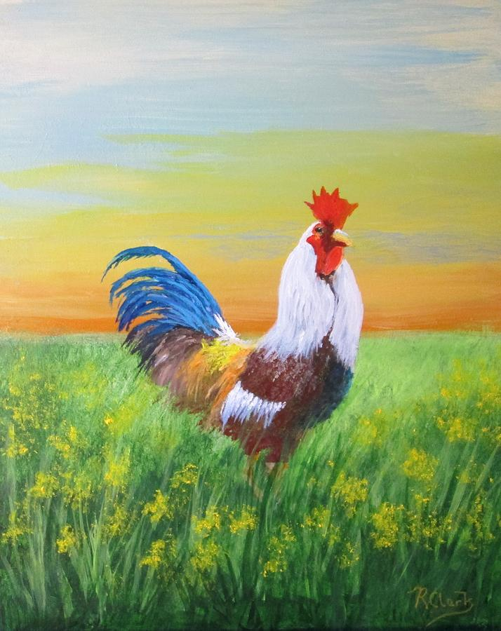 Year of The Rooster by Robert Clark