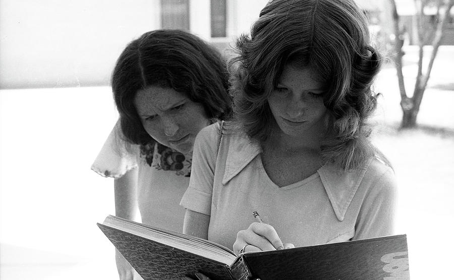 Yearbook Signing, 1972, Part 1 by Jeremy Butler