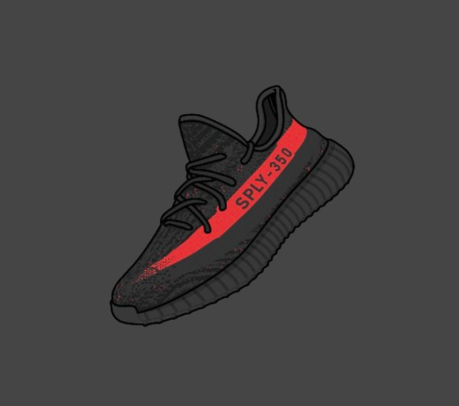 YEEZY Boost Releases 2017: Comparing the Resale Market of ...  Yeezy Drawing