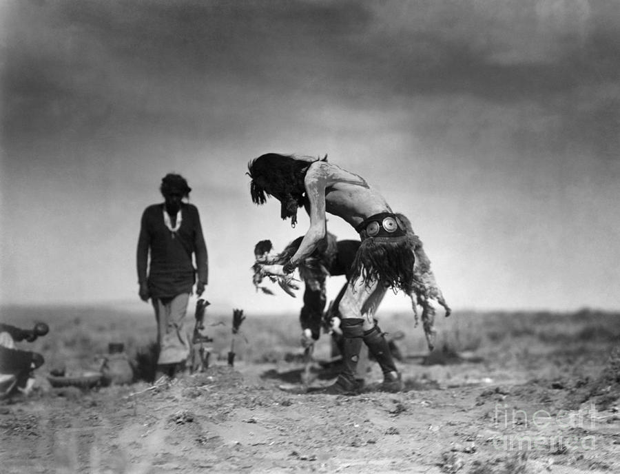 1905 Photograph - Yeibichai Ceremony, C1905 by Granger
