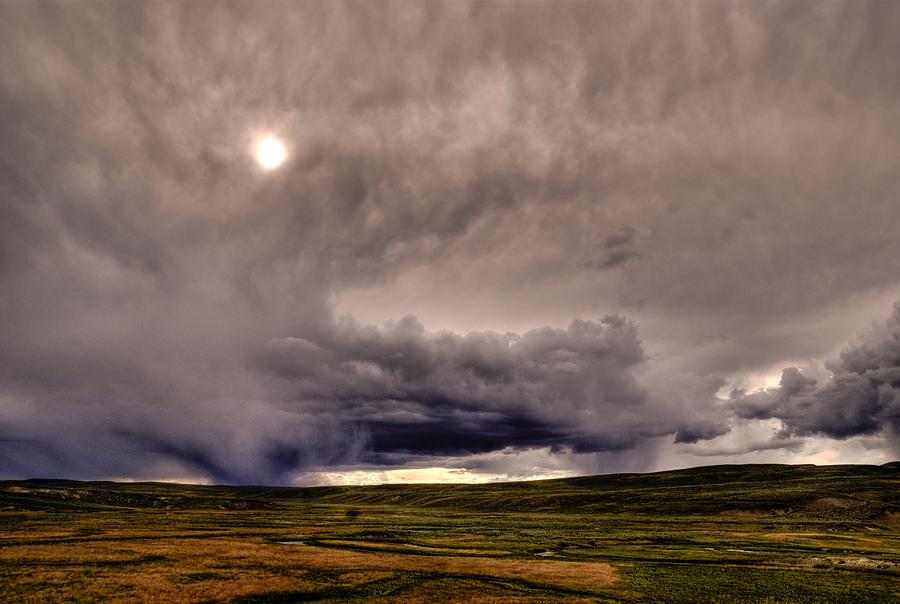 National Park Photograph - Yellostone Sky by Patrick  Flynn