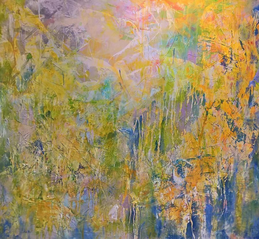 Yellow Abstract by Robert Anderson