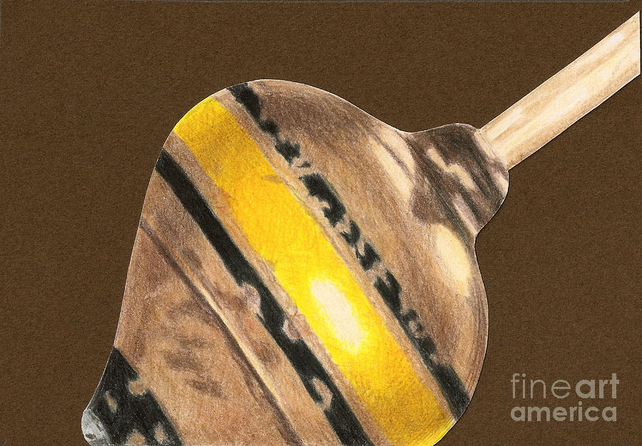 Drawing Drawing - Yellow And Black Top by Glenda Zuckerman