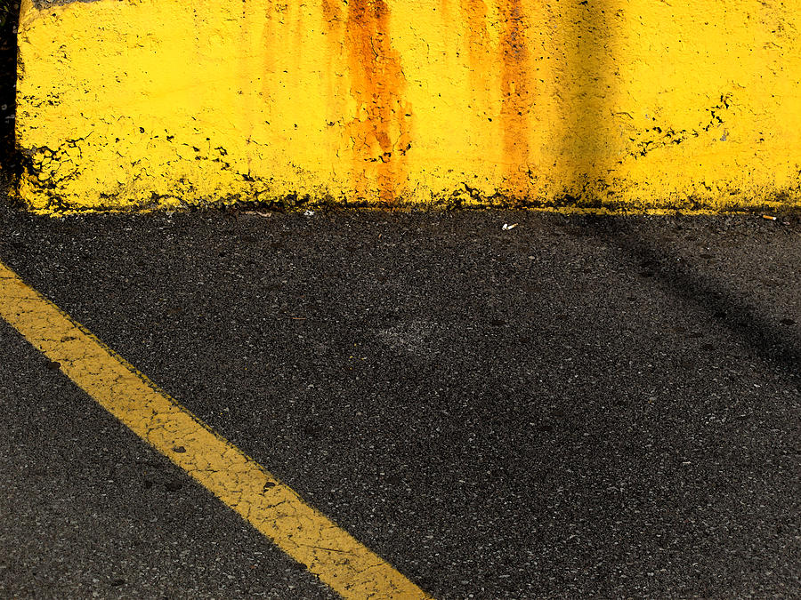 Yellow Photograph - Yellow And Grey Wc  by Lyle Crump